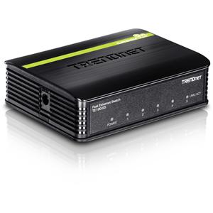 Conmutador Ethernet TRENDnet TE100-S5 5 - 5 x Fast Ethernet Red - 2 Capa compatible - 5 Año(s) Garantía limitada