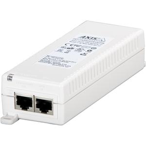 Inyector PoE AXIS T8120 - 110 V AC, 220 V AC Entrada - 48 V DC Salida - 1 10/100/1000Base-T Output Port(s) - 15 W
