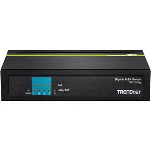 Conmutador Ethernet TRENDnet TPE-TG50g 5 - 2 Capa compatible - De Escritorio - 3 Año(s) Garantía limitada