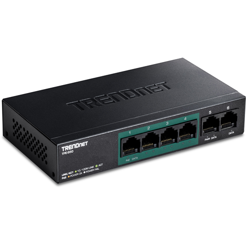 Conmutador Ethernet TRENDnet TPE-S50 6 - Par trenzado