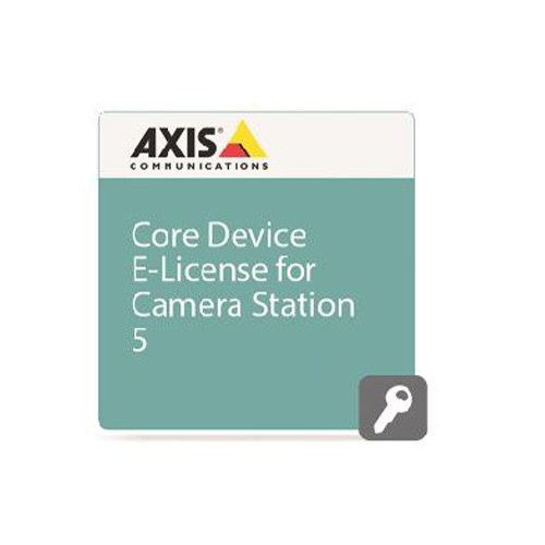 AXIS Camera Station v. 5.0 - Licencia CORE Device - 1 Licencia - Electrónico/a - PC