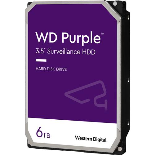 """Disco Duro WD Purple WD60PURZ - 3.5"""" Interno - 6 TB - SATA (SATA/600) - 5400rpm - 64 MB Búfer"""