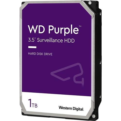 """Disco Duro WD Purple WD10PURZ - 3.5"""" Interno - 1 TB - SATA (SATA/600) - 5400rpm - 64 MB Búfer - 3 Año(s) Garantía"""