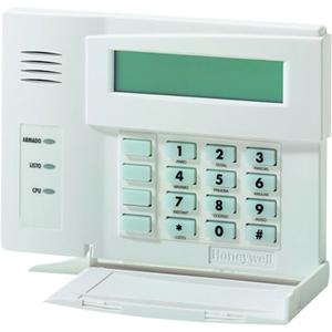 Dispositivo de acceso del teclado numérico Honeywell 6164SP - Código llave - LCD