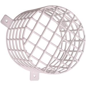 STI Cubierta de Seguridad para Sounder, Strobe - Acero - Blanco