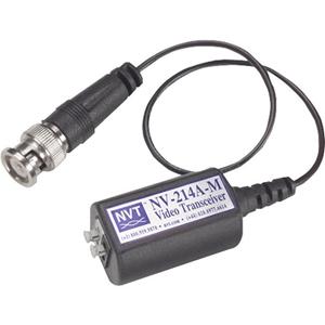 Transmisor de vídeo emisor/receptor NVT NV-214A-M - Cableado - 1 Input Device - 1 km Alcance - Coaxial