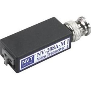 Balun vídeo NVT NV-208A-M - 15 kHz a 5 MHz - 1 km Distancia máxima de funcionamiento - Entrada BNC