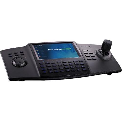 "Panel de control Hikvision DS-1100KI - 3D Joystick - 17,8 cm (7"") LCD Pantalla Táctil Pantalla - USB Puerto - En Serie Puerto - Red (RJ-45) Puerto"