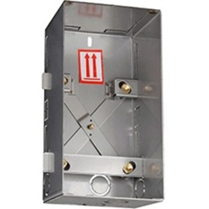 Caja Montaje 2N - Metálico - Montaje empotrado