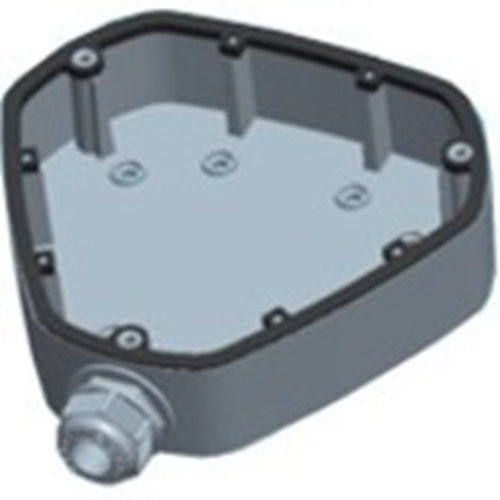 Caja Montaje Hikvision DS-1280ZJ-DM25 - 4,50 kg Capacidad de carga - Blanco