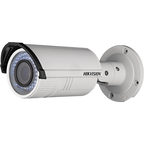 Cámara de red Hikvision Value DS-2CD2622FWD-IZS 2 Megapíxel - Color - 30 m Night Vision - Imagen JPEG, H.264 - 1920 x 1080 - 2,80 mm - 12 mm - 4,3x Óptico - CMOS - Cable - Bala - Montable en poste