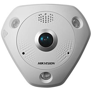 Cámara de red Hikvision DS-2CD6362F-IVS 6 Megapíxel - Color, Monocromo - 15 m Night Vision - Imagen JPEG, H.264 - 3072 x 2048 - 1,27 mm - CMOS - Cable - Fijacion en techo, Soporte de Pared, Montaje colgante