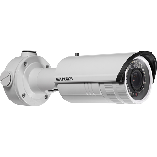 Cámara de red Hikvision DS-2CD2610F-I 1,3 Megapíxel - Color - 30 m Night Vision - Imagen JPEG, H.264 - 1280 x 960 - 2,80 mm - 12 mm - 4,2x Óptico - CMOS - Cable - Bala