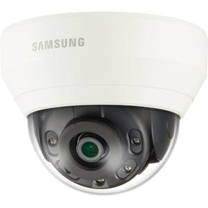 Cámara de red Samsung WiseNet QND-6010R 2 Megapíxel - Color, Monocromo - 20 m Night Vision - Imagen JPEG, H.264, H.265 - 1920 x 1080 - 2,80 mm - CMOS - Cable - Cúpula