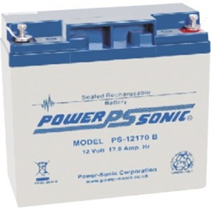Batería Power-Sonic PS-12170 - 17000 mAh - Acido de plomo sellada (SLA) - 12 V DC - Batería Recargable - 1 / Paquete