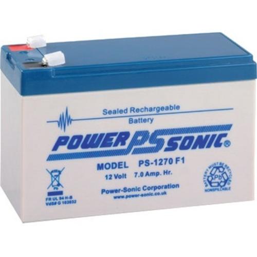 Batería Power-Sonic PS-1270 - 7000 mAh - Acido de plomo sellada (SLA) - 12 V DC - Batería Recargable - 1 Paquete(s)