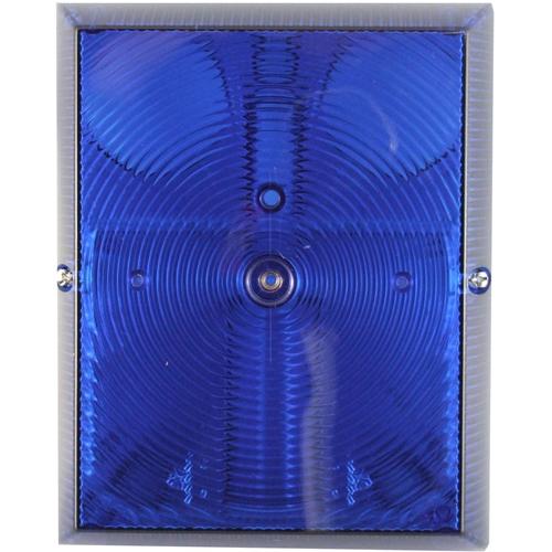 Claxon/Luz estroboscópica CQR - Cableado - 6 V DC - 118 dB(A) - Audible, Visual - Azul