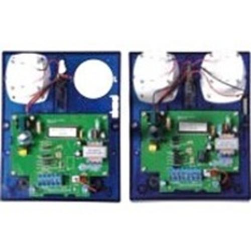 Claxon/Luz estroboscópica CQR - Cableado - 6 V DC - 115 dB(A) - Audible, Visual - Azul