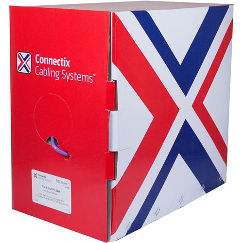 Cable de red Connectix - 305 m Categoría 6 - para Dispositivo de red - Cable desnudo - Cable desnudo