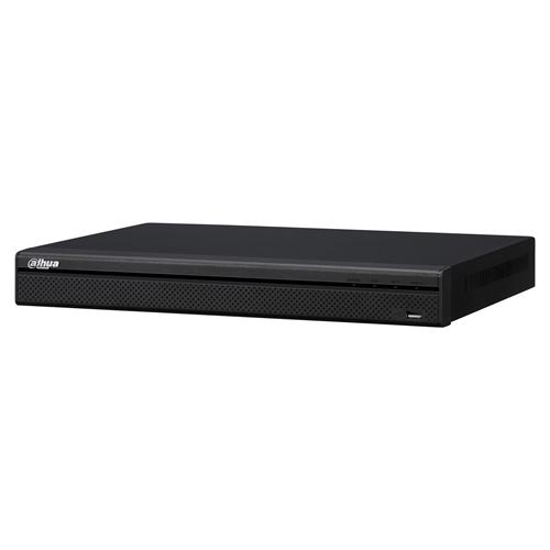 Estación de videovigilancia Dahua NVR4208-8P-4KS2 - 8 Canales - Grabador de vídeo en red - H.264, H.265 Formatos - Entrada de vídeo compuesto - 1 Audio In - 1 Audio Out - 1 VGA Out - HDMI