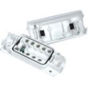 Caja Montaje Potter EN3-JB9-HD - Plastico ABS - Blanco