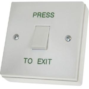 CDVI RTE001S Botón Pulsar - Un empalme - Plastico