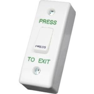 CDVI Botón Pulsar - Un empalme - Plastico, Acero Inoxidable