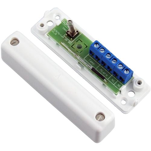 CQR SC570 Contacto magnético - SPST (N.O.) - 12 mm Espacio - Para Puerta - Montaje en superficie - Blanco