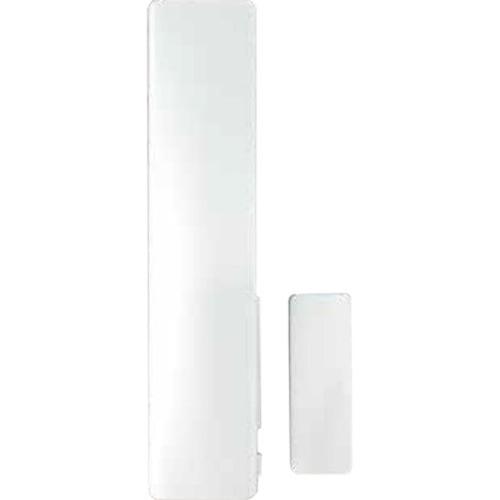 Honeywell Alpha Inalámbrico Contacto magnético - 25 mm Espacio - Para Puerta, Ventanilla - Soporte de Pared - Blanco