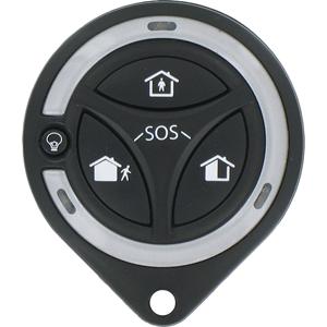 Honeywell 4 Botones Llavero transmisor - RF - 868,30 MHz - Dispositivo de mano