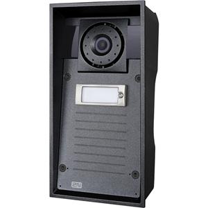 Subestación de videoteléfono de puerta 2N Helios IP Force - 135° Horizontal - 109° Vertical - Duplex - Control de entrada