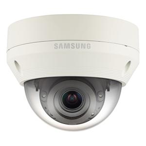 Cámara de red Hanwha Techwin WiseNet QNV-6070RP 2 Megapíxel - Color, Monocromo - 30 m Night Vision - Imagen JPEG, H.264, H.265 - 1920 x 1080 - 2,80 mm - 12 mm - 4,3x Óptico - CMOS - Cable - Cúpula