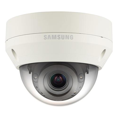 Cámara de red Hanwha Techwin WiseNet QNV-7080RP 4 Megapíxel - Monocromo, Color - 30 m Night Vision - Imagen JPEG, H.264, H.265 - 2688 x 1520 - 2,80 mm - 12 mm - 4,3x Óptico - CMOS - Cable - Cúpula