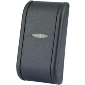 Dispositivo de acceso de lector de tarjetas Visual Plus MINI-SA2 - Negro - Puerta - Proximidad - 4000 Usuario(s) - 80 mm Radio de Acción - 24 V DC
