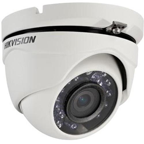 Cámara de vigilancia Hikvision Turbo HD DS-2CE56D1T-IRM 2 Megapíxel - Monocromo, Color - 20 m Night Vision - 1920 x 1080 - 2,80 mm - CMOS - Cable - Torreta - Soporte de Pared, Montable en poste, Montaje en esquina, Montura de caja de empalme