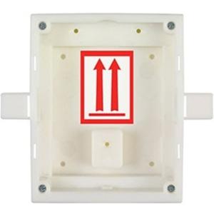 Caja Montaje 2N - Plastico - Blanco - Montaje empotrado