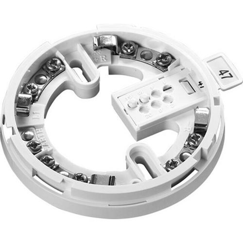 Apollo Intelligent Base de detector de humos - Para Detector de humo - Acero Inoxidable - Blanco