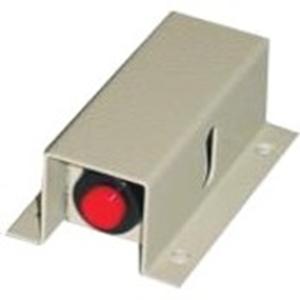 SEDILEC C-105 Botón Pulsar Para Alarma - Rojo - Acero