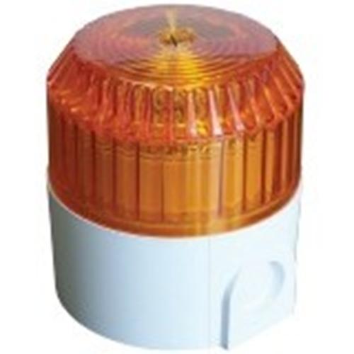 Luz estroboscópica de seguridad Cooper Solex - 60 V DC - Visual - Ámbar