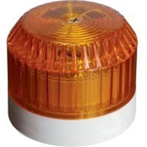 Luz estroboscópica de seguridad Cooper - 60 V DC - Visual - Blanco, Ámbar