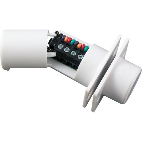 CQR FC508 Contacto magnético - SPST (N.O.) - 6 mm Espacio - Para Puerta Doble - Montaje empotrado - Blanco