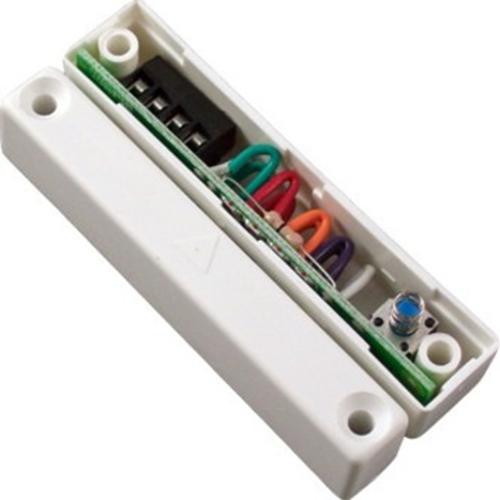 CQR SC517 Contacto magnético - N.C. - 17 mm Espacio - Para Puerta Doble - Montaje en superficie - Blanco