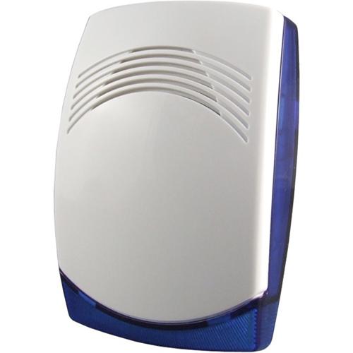 Sirena/Luz estroboscópica FireBrand Piccolo - 15 V DC - 115 dB - Audible, Visual - Montaje en superficie - Azul