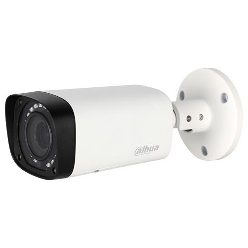 Cámara de vigilancia Dahua Lite HAC-HFW1100R-VF 1 Megapíxel - Color, Monocromo - 29,87 m Night Vision - 1280 x 720 - 2,70 mm - 13,50 mm - 5x Óptico - CMOS - Cable - Bala - Montura de caja de empalme, Montable en poste