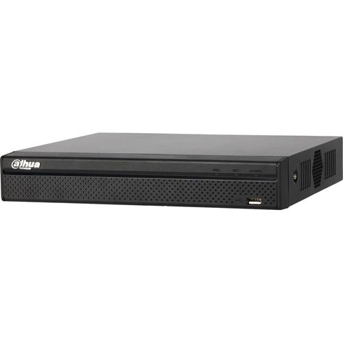 Estación de videovigilancia Dahua Lite NVR4104-P-4KS2 - 4 Canales - Grabador de vídeo en red - H.265, H.264 Formatos - 1 Audio In - 1 Audio Out - 1 VGA Out - HDMI