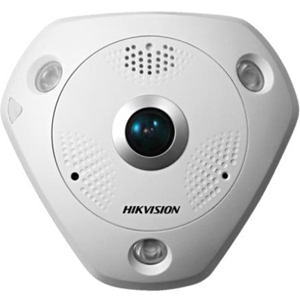 Cámara de red Hikvision DS-2CD6332FWD-I(V)(S) 3 Megapíxel - Color, Monocromo - 15 m Night Vision - Imagen JPEG, H.264 - 2048 x 1536 - 1,19 mm - CMOS - Cable - Montura de caja de empalme, Fijacion en techo, Soporte de Pared, Montaje colgante