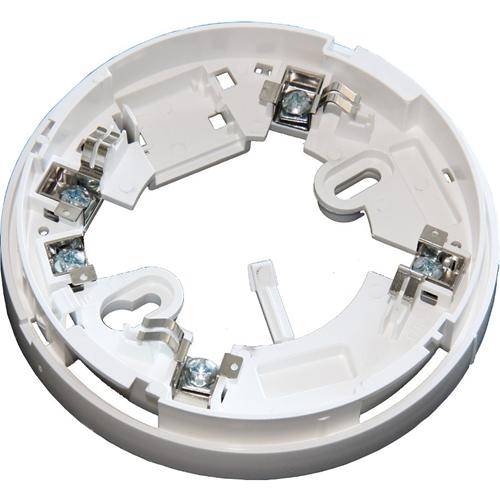 Teletek SensoMAG Base de detector - Para Detector de humo, Sensor de temperatura - Plástico ABS - Blanco