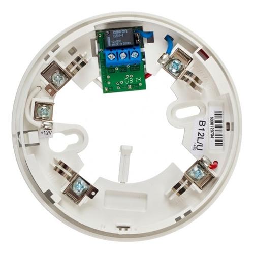 Teletek SensoMAG Base de detector - Para Sensor de temperatura, Detector de humo - 12 V DC - Plástico ABS - Blanco