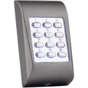 Dispositivo de acceso del teclado numérico XPR MTPADC - Gris Oscuro - Código llave - 99 Usuario(s) - 24 V DC - Montaje en superficie