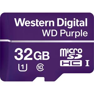 microSDHC WD Purple WDD032G1P0A - 32 GB - Class 10/UHS-I (U1) - 100 MB/s Leer - 60 MB/s Escribir